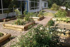Jardin en maternelle